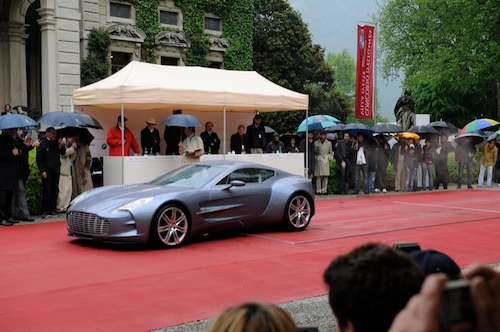 Concorso d'Eleganza Design Award/ Aston Martin Lagonda One-77 Coupe, Dr. Ulrich Bez, United Kingdom