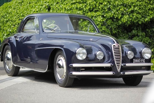 Class D - International Prestige, Closed1949 Alfa Romeo, 6C 2500 SS Coupe Touring, Giuseppe Spiller, Italy