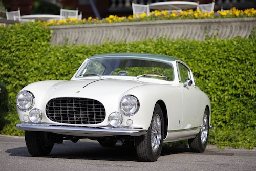 Trofeo BMW Group Classic - To the most sensitive restoration 1955 Ferrari 250 GT Europa Pinin Farina Coupe, Kenneth Roath, United States