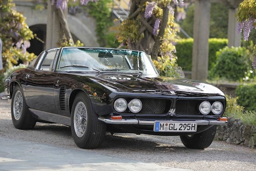 Class H - Italian Style Becomes International1970 Iso Grifo Targa Bertone, Alexander Wiesner, Germany