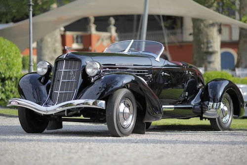 Class C - Prewar Sports Cars1936 Auburn 852SC Speedster, Andrew Pisker, United Kingdom