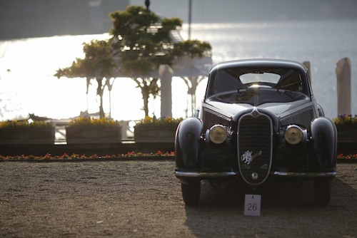 1938 Alfa Romeo 8C 2900B won Best of Show at the 2009 Concorso d'Eleganza Villa d'Este