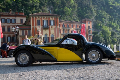 Class B - Prewar Closed Cars1938 Bugatti 57S Atalante, Gil Noble, United Kingdom