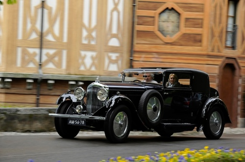 Trofeo Banque Baring Brothers Sturdza and Trofeo Automobile Club di Como - To the car driven from farthest away1931 Bentley 8 Litre Sportsman Coupe Gurney Nutting, Frans van Haren, Netherlands