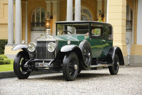 Trofeo Rolls-Royce - To the most elegant Rolls-Royce 1925 Rolls-Royce Phantom I Sports Saloon Hooper, Norbert Seeger, United States