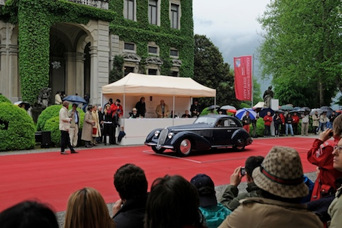 Best of Show – Public Referendum and Committee/ 1938 Alfa Romeo 8C 2900B, Jon Shirley, United States