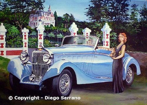 Hispano Suiza J12 Cabriolet Saoutchik