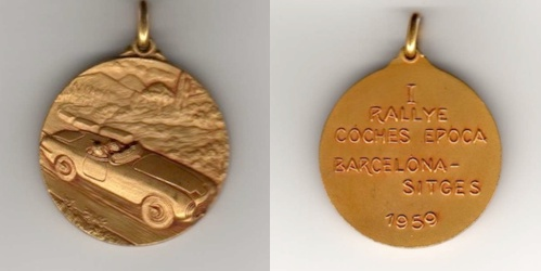 Rallye Internacional de Coches de Epoca Barcelona-Sitges 1959