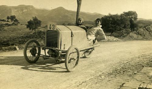 DOTS (1919) El triciclo de José Carreras Bonet