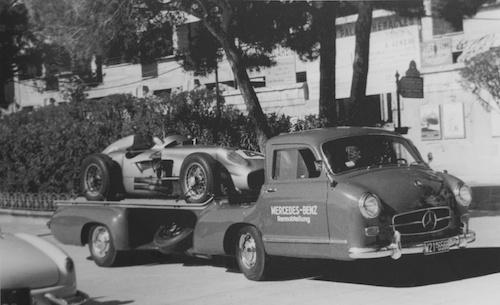 Mercedes Rennabteilung