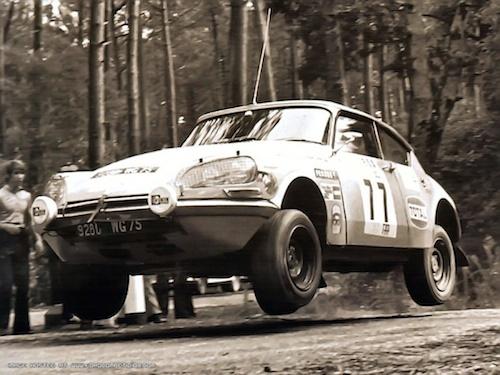 Citroen DS23 Proto Rally Portugal TAP 1972