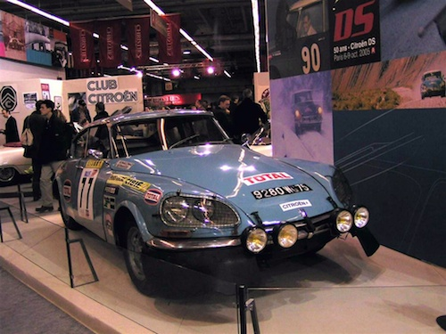 Citroen DS23 Proto Rally Portugal TAP 1972