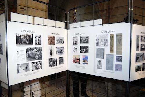Exposición de documentos Homenaje a Helle Nice