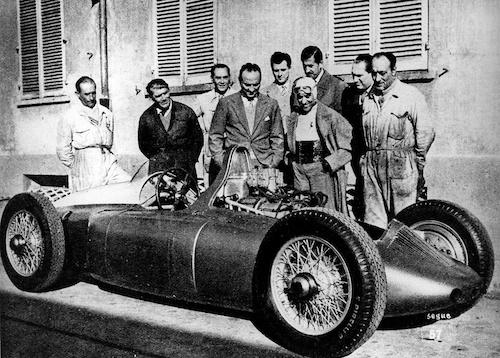 Cisitalia Grand Prix con Tazio Nuvolari