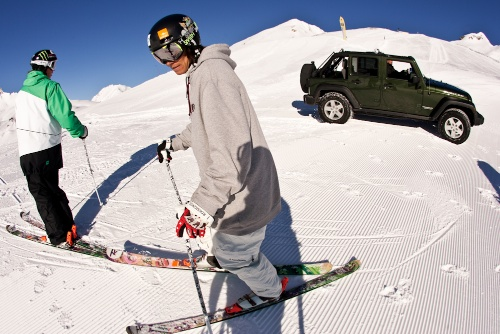 Jeep en los Winter X Games 2011