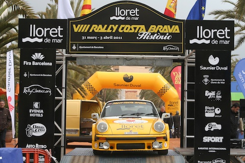 Rally Lloret-Costa-Brava Historic 2011. Pre-Salida
