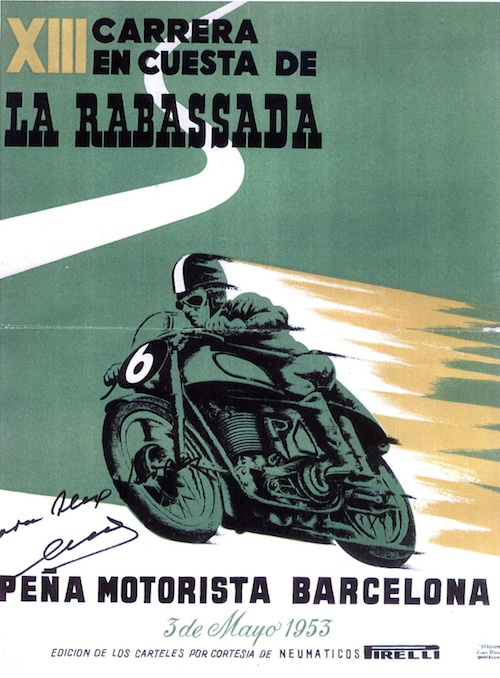 Cartel oficial de la XIII Carrera en Cuesta a la Rabassada