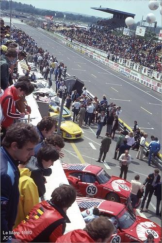Le Mans 1980 : avant le départ (by jccphotos)