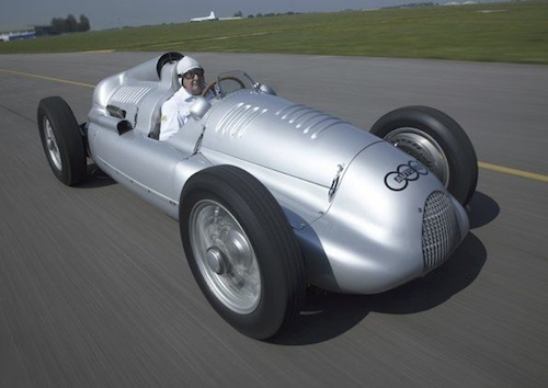 Historic Audi racing cars, Auto Union, Goodwood